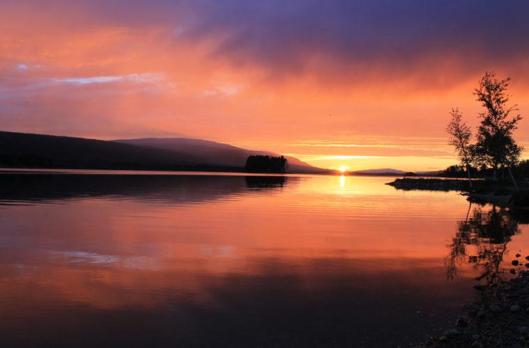 Solnedgång_Klövsjön_Foto_Jenny_Ståhl